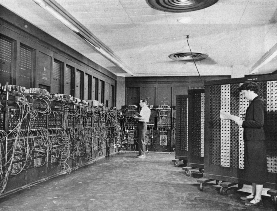ENIAC, the first general-purpose computer, 1946